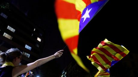 Des indépendantistes catalans à Barcelone le 1er octobre