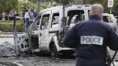 Après l'attaque contre un équipage de police à Viry-Châtillon le 8 octobre 2016 (image d'illustration).