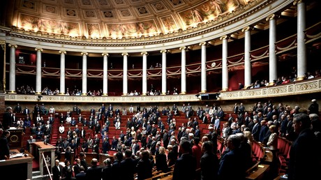 Séance de questions au gouvernement à l'Assemblée nationale à Paris, le 8 octobre 2019 (image d'illustration).