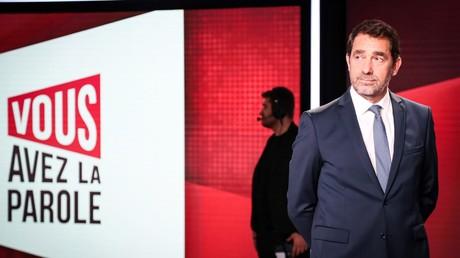 Christophe Castaner sur le plateau de France 2 le 17 octobre.