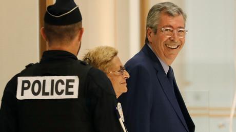 Patrick et Isabelle Balkany, le 13 septembre 2019, au tribunal correctionnel, à Paris (image d'illustration).