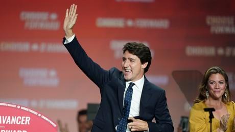 Canada : les libéraux de Trudeau en tête des législatives, mais sans majorité absolue