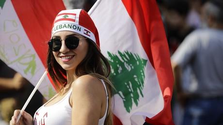 Une manifestante libanaise (image d'illustration)