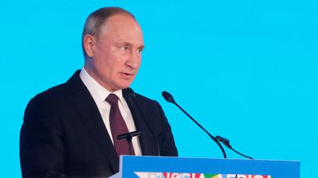 Vladimir Poutine le 23 octobre 2018 à Sotchi (image d'illustration).