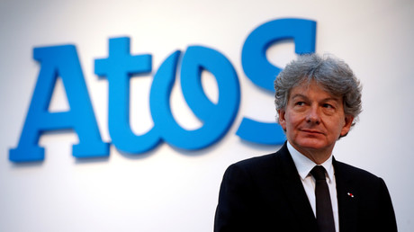 Thierry Breton, PDG d'Atos (image d'illustration).