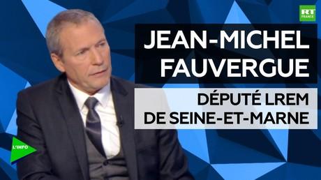 """Jean-Michel Fauvergue (LREM) : «La """"société de vigilance"""" n'est pas la société de délation»"""