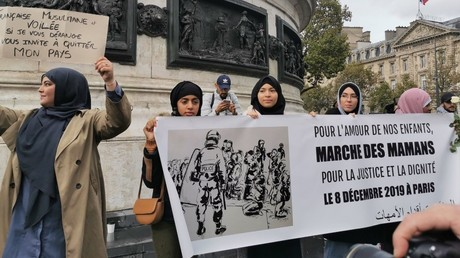 Rassemblement contre l'islamphobie, le 19 octobre 2019 à Paris.