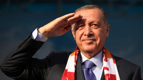 Recep Erdogan est en guerre juridique contre Le Point (image d'illustration).