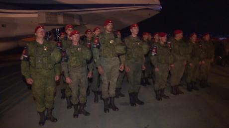 Des militaires russes sont arrivés sur la base militaire de Hmeimim en Syrie.