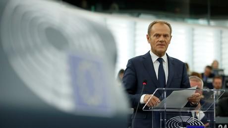 Le président du Conseil européen Donald Tusk, le 22 octobre 2019.