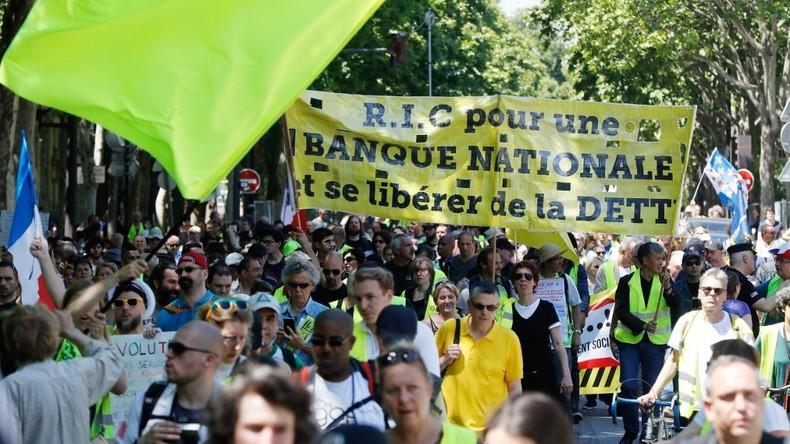 Deux rassemblements déclarés à Paris pour l'acte 51 des Gilets jaunes 5dbd5e4a87f3ec0c59523bf9