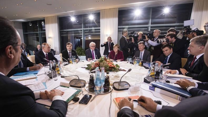 Ukraine : un sommet au «format Normandie» aura lieu le 9 décembre à Paris