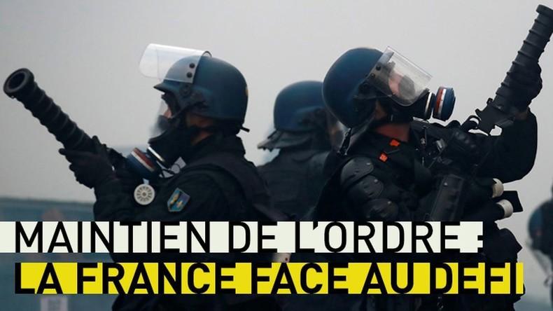 Maintien de l'ordre : la France face au défi
