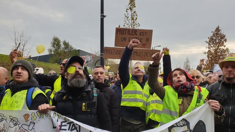 foto de Acte 54 des Gilets jaunes : l'an 1 passé plusieurs rassemblements organisés en France (EN