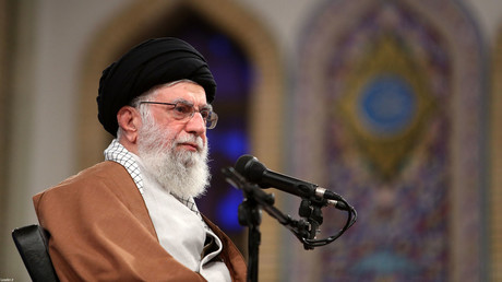 L'ayatollah iranien Ali Khamenei lors d'une conférence organisée à Téhéran, le 3 novembre 2019.
