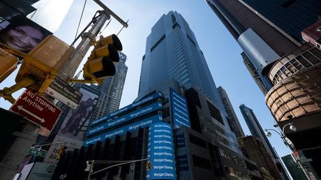 Le siège social de la banque Morgan Stanley, à New York.