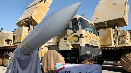 Le système de défense antiaérienne iranien Bavar 373, le 22 août 2019, à Téhéran, en Iran (image d'illustration).