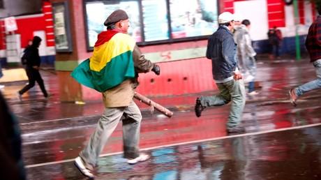 Chaos dans la capitale bolivienne après le«coup d'Etat»dénoncé par Evo Morales