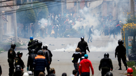Un «signal» au Venezuela : Trump «applaudit» l'armée bolivienne après le départ de Morales
