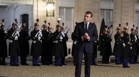 Le président français Emmanuel Macron.
