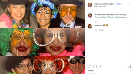Marion Lenne, députée LREM, a partagé des clichés de cette soirée avec des lobbyistes sur son compte Instagram (image d'illustration).