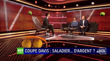 L'AUTRE MATCH - Coupe Davis : saladier... d'argent ?