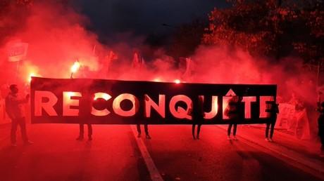 «Défendons la France» : Génération identitaire organise une marche contre les «islamistes» à Paris