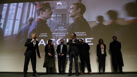Le réalisateur Roman Polanski s'exprime dans un cinéma parisien après la projection de son dernier film J'accuse, le 4 novembre 2019 (image d'illustration).