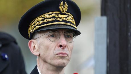 Didier Lallement lors des commémorations du 11 novembre à Paris, novembre 2019 (image d'illustration).