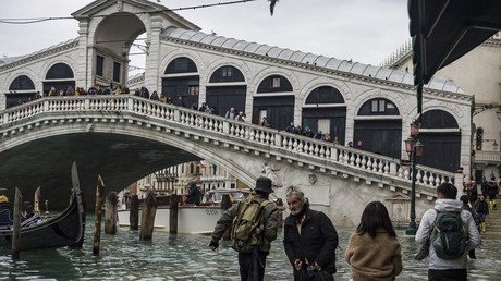 Un million d'euros collecté en Russie pour aider Venise après les inondations