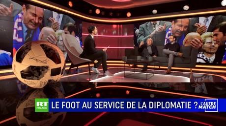 L'AUTRE MATCH - Le foot au service de la diplomatie ?