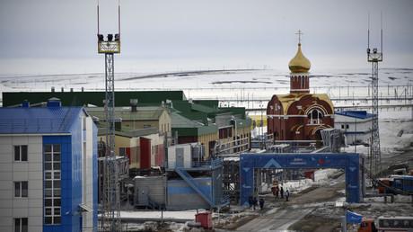 Base principale du champ gazier de Bovanenkovo sur la péninsule de Yamal dans le cercle arctique, le 21 mai 2019 (image d'illustration).