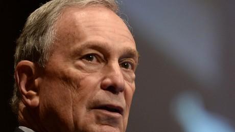 Michael Bloomberg, ancien maire de New York et candidat à l'invesiture démocrate pour la présidentielle de 2020.
