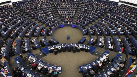 Les députés nouvellement élus assistent à la session inaugurale du Parlement européen, le 2 juillet 2019, à Strasbourg (image d'illustration).