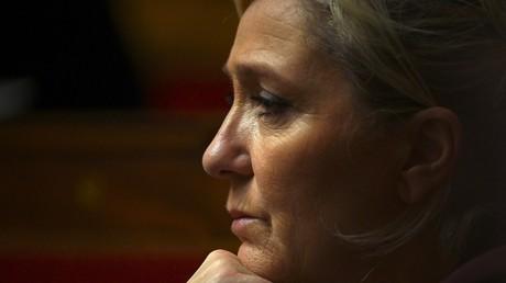 Marine Le Pen à l'Assemblée nationale, le 26 novembre 2019.