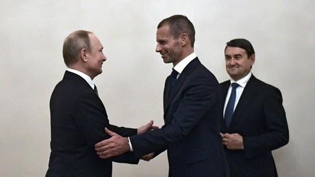 La Russie «parfaitement organisée» pour la tenue de l'Euro 2020, selon le président de l'UEFA