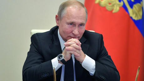 Le président russe Vladimir Poutine à Moscou, le 26 novembre 2019.