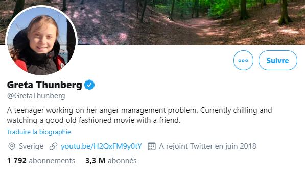 Donald Trump conseille à Greta Thunberg de «se détendre», elle lui répond avec ironie