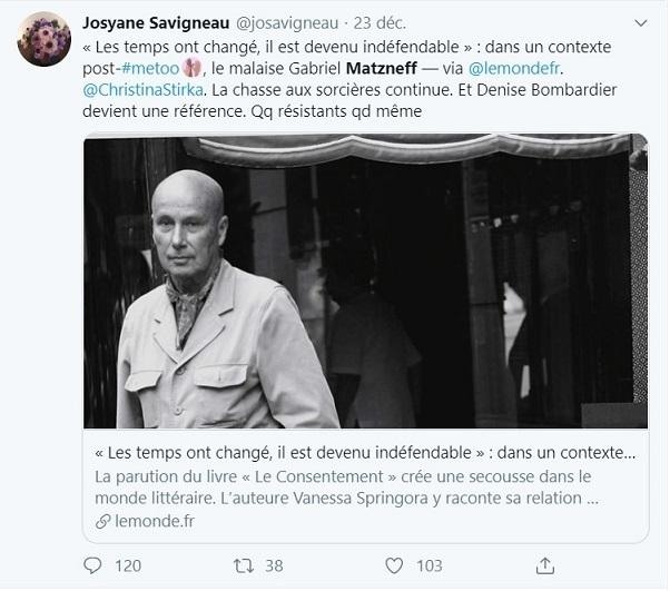 Affaire Matzneff  : vers le procès moral du Tout-Paris post-68 ?