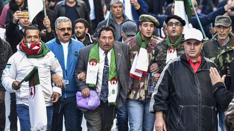 Des manifestants battent le pavé à Alger contre «l'ingérence étrangère» du Parlement européen et pour la tenue de la présidentielle du 12 décembre.