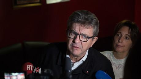 Jean-Luc Mélenchon, le 9 novembre 2019, à Marseille.