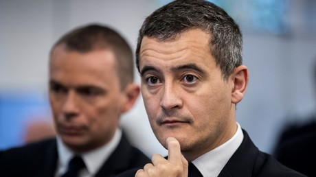 Gérald Darmanin, le 15 novembre 2019, à Paris (image d'illustration).