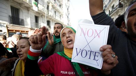Manifestation d'Algériens contre la présidentielle à Alger le 6 décembre 2019 (image d'illustration).