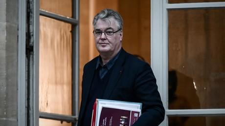Jean-Paul Delevoye, Haut-commissaire aux retraites, à Matignon le 1er décembre 2019.