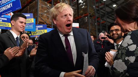 Boris Johnson en amont d'un discours à Manchester le 10 décembre (image d'illustration).