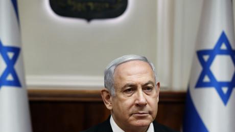 Benyamin Netanyahu, le 8 décembre 2019.