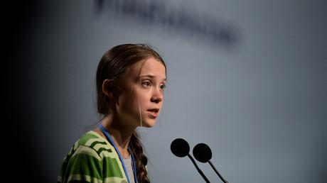 Greta Thunberg lors de la COP25 à Madrid, le 11 décembre 2019.