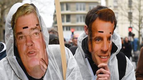 Manifestation contre la réforme des retraites, à Rennes, le 10 décembre 2019.