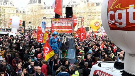 Mobilisation contre la réforme des retraites du 17 décembre 2019, à Paris