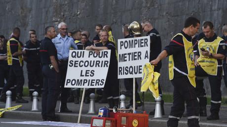 Les agressions contre les pompiers ont augmenté de 21% en 2018